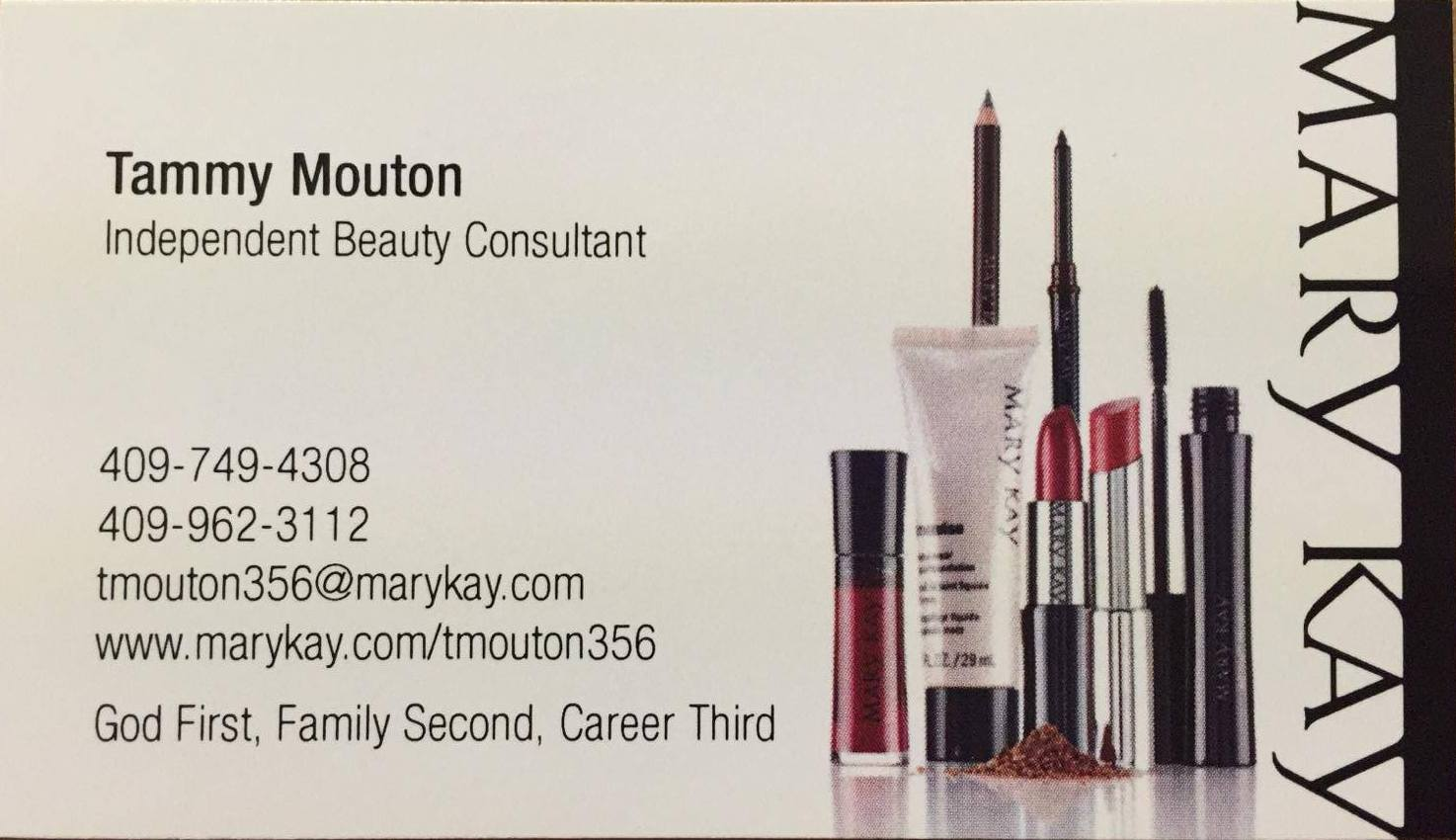Tammy Mouton Supports Stay At Home Moms As An Independent Mary Kay Beauty Consultant