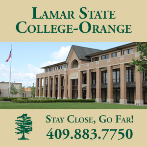 Lamar State College-Orange encourages students--Stay Close, Go Far